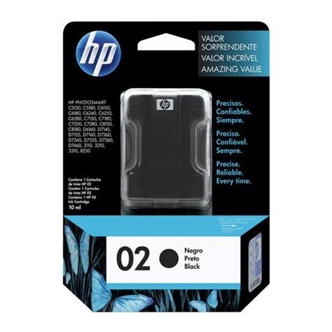 Dijamin Hp Ink Cartridge Hp 02 Black hp 02 black ink cartridge genuine c8721wa inkdepot