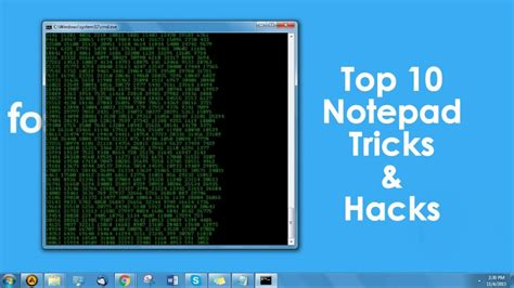 best hacks top 10 coolest notepad tricks and hacks for your pc abhi