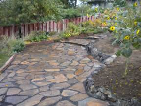 Backyard Studios Precautions To Take Flagstone Pavers Decorifusta