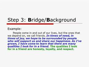 Bridges Essay Writing by The Five Paragraph Essay For Persuasive And Expository Writing Ppt
