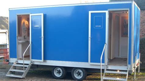 Trailer Bathroom Rental by Los Angeles Porta Potty Rentals Rent Portable Toilets