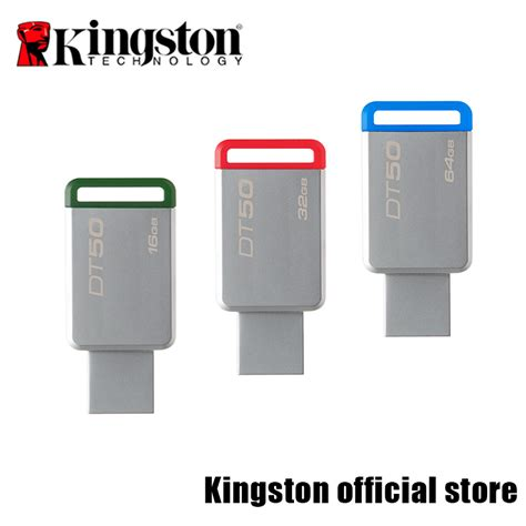 Usb Flashdisk Kingston Datatraveler 50 Usb 3 1 64gb Mini Flashdrive kingston usb flash drives usb 3 1 datatraveler 50 usb flash disk dt50 16g 32g 64g 128g in usb