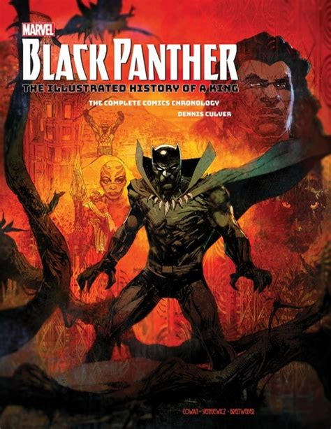 marvel s black panther the illustrated history of a king the complete comics chronology icv2 marvel s black panther the illustrated history of