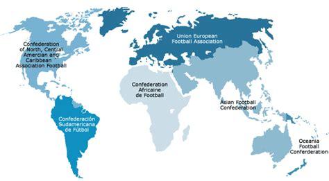 worldmap national football teams