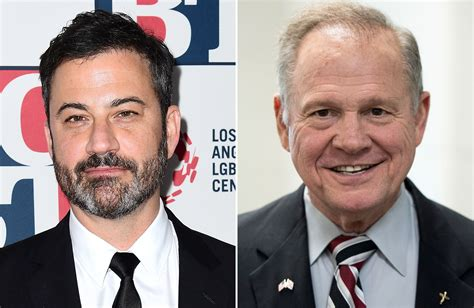roy moore jimmy kimmel twitter jimmy kimmel rips into roy moore after twitter feud