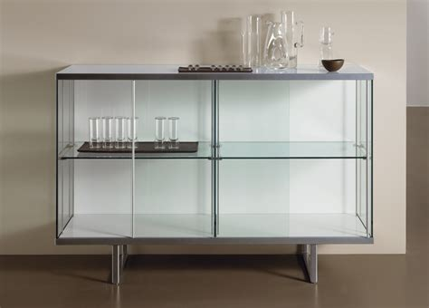 Glass Sideboards tonelli broadway glass sideboard sideboards contemporary furniture