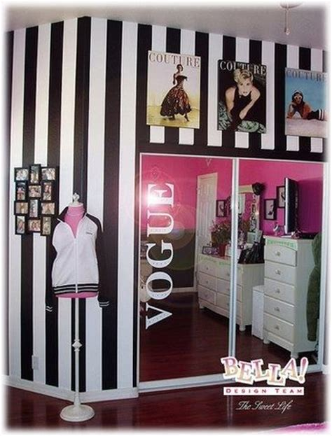 fashion bedrooms vogue fashion theme girls bedrooms ideas pinterest