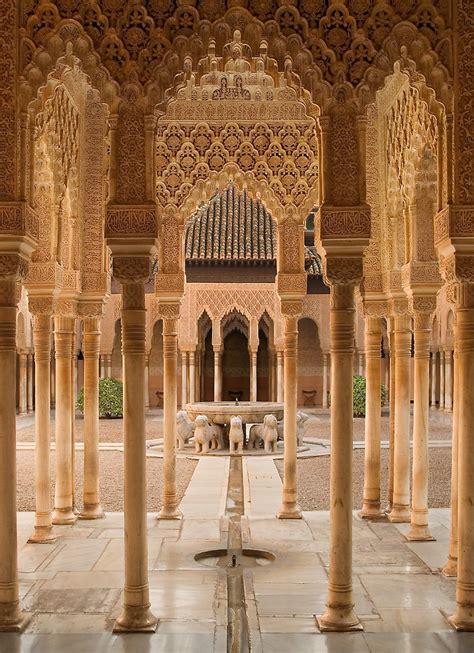 """Plaza de Leones Alhambra Palace Granada Spain"" by Les"
