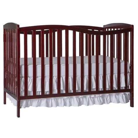 on me chelsea 5 in 1 convertible crib in cherry 680 c