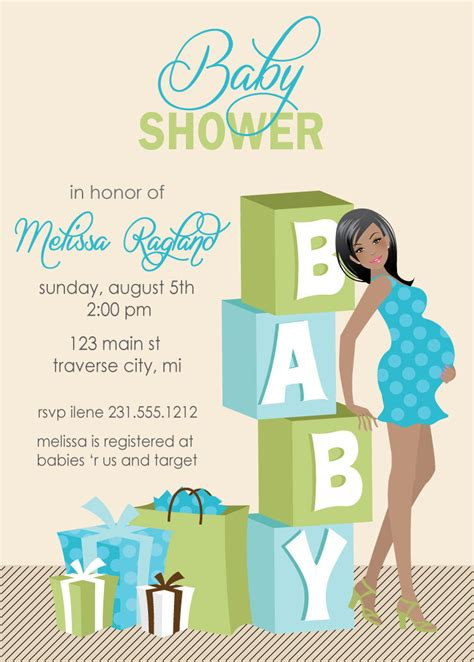baby shower invites boy theruntime