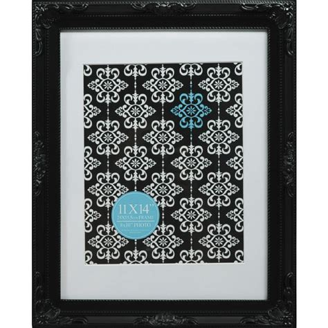 11 X 14 Frame With 8 X 10 Mat by Emporium Frame 11 X 14 Quot With 8 X 10 Quot Opening Black