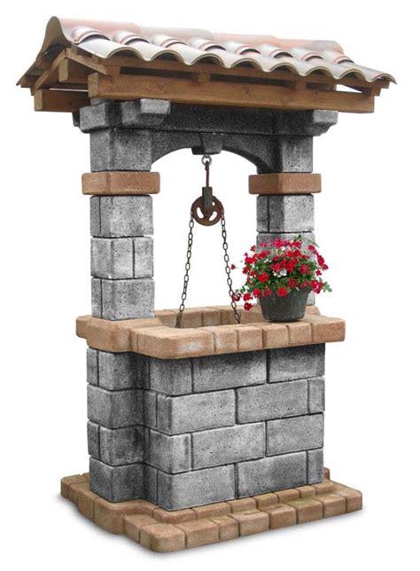 pozzi da giardino pozzo country pozzi decorativi da giardino r c di