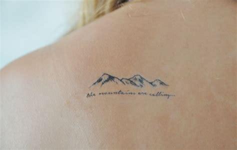 tattoo liner depth mountains temporary tattoo small temporary tattoo tattoo