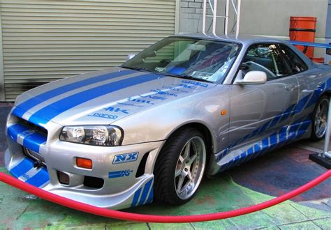 nissan skyline r34 2 fast 2 furious 2 fast 2 furious nissan skyline gt r by thexrealxbanks on