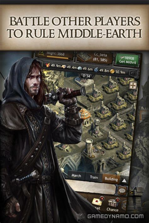 review the hobbit kingdoms of middle earth by kabam the hobbit kingdoms of middle earth iphone ipad