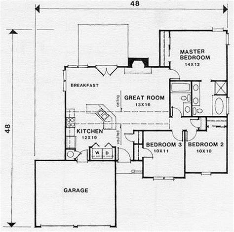 small retirement house plans small retirement house plan 45801 at familyhomeplans com home plans pinterest