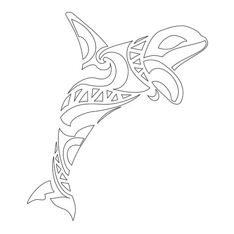 tribal orca tattoo images for gt killer whale tribal tattoos