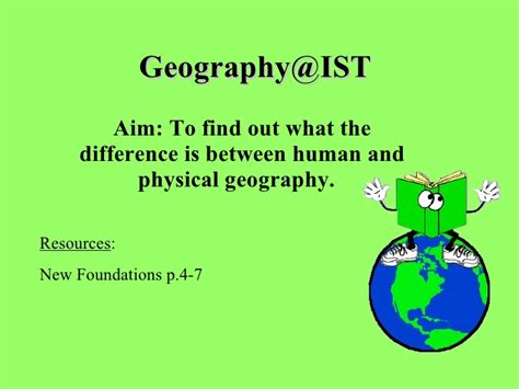 Physical Landscape Definition Human Geography Human Physical Geography