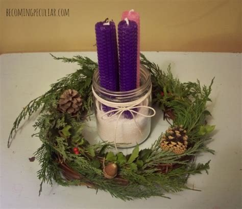 Handmade Advent Wreath - how to make advent wreath www imgkid the image kid