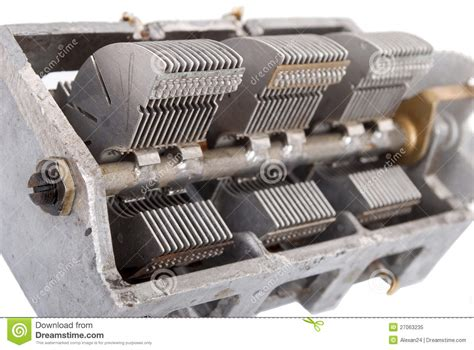 how to read variable capacitor variable capacitor royalty free stock photo image 27063235