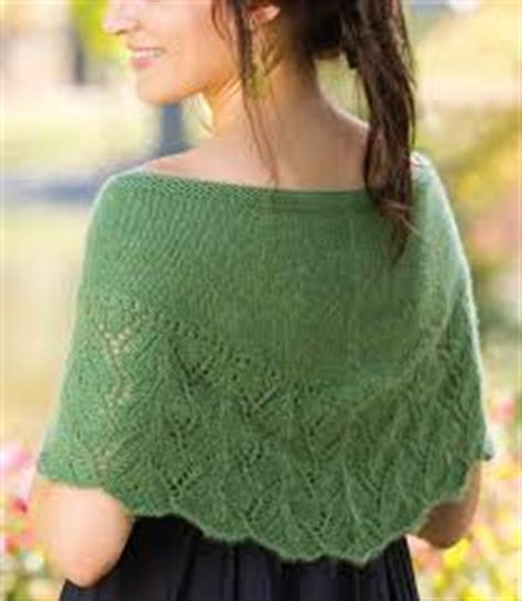 free knitting pattern library capelet rhea capelet free knitting pattern knitting bee
