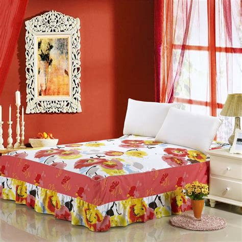 yellow bed skirt yellow bedskirt reviews online shopping yellow bedskirt reviews on aliexpress com