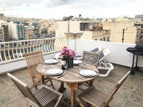 paceville malta appartamenti sea spray attico con terrazza paceville