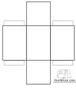 Box Templates To Print by 6 Best Images Of Rectangular Box Template Printable