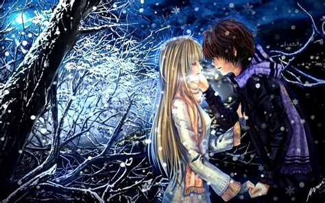 wallpaper anime romantic romantic anime in love hd pictures romantic anime kiss and