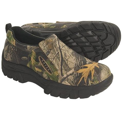 roper camouflage high performance shoes leather slip ons