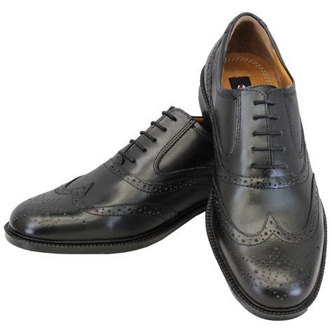 Fashion Leather Formal Shoes mens leather boots brogue lace up shoes formal casual