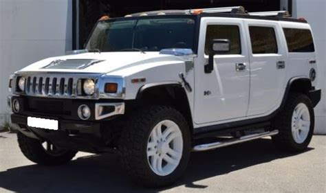 hummer 7 seater for sale 2005 hummer h2 6 0 v8 automatic suv cars for sale in spain