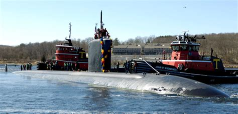 general dynamics electric boat new london uss springfield ssn 761 los angeles class attack submarine
