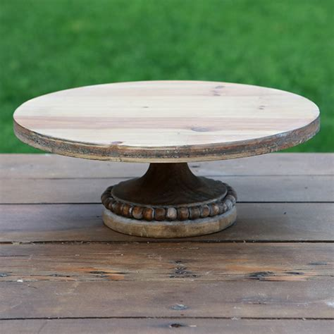 antique beaded cake stand 2 12 quot wood beaded cake stands forever vintage rentals