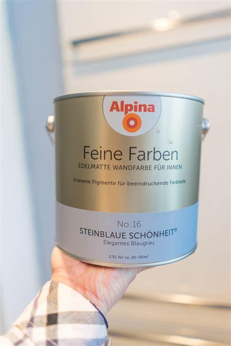 grosse renovierungsaktion mit alpina feine farben hier