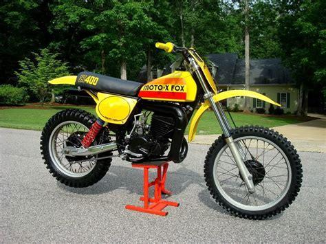 suzuki rm moto  fox replica vintage dirt