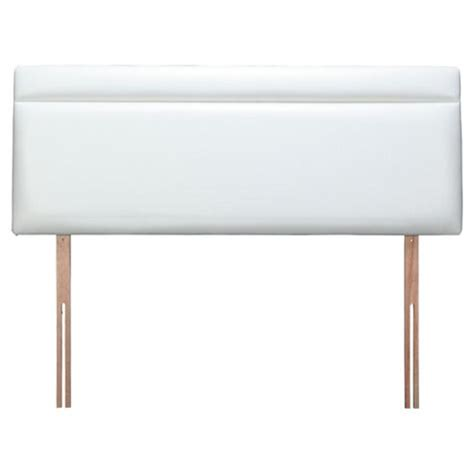 double white headboard buy seetall liberty double faux leather headboard white