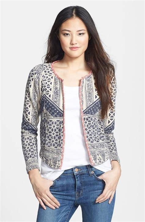 cute pattern blazers jacket corte y confeccion pinterest blazers