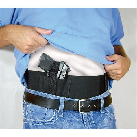 waistband holster concealed carry gun waist wrap concealed carry gun holster with 2 mag pockets