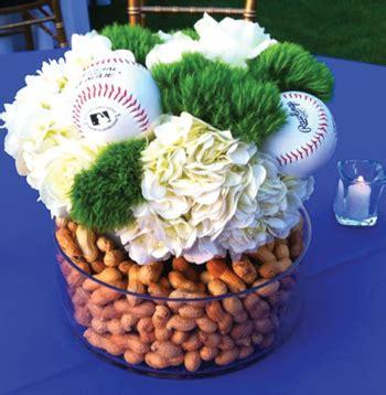 baseball wedding centerpieces sports themed weddings sports themed wedding reception