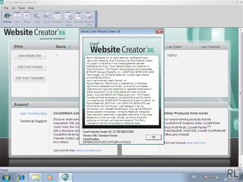 templates for corel website creator membuat design website sendiri dengan corel website