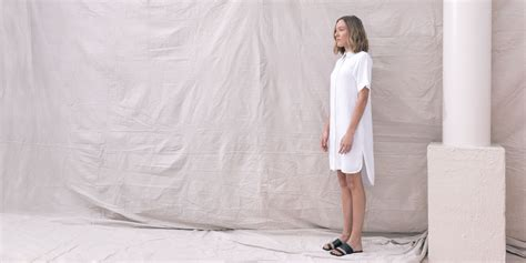 Byanca Dress 02 By white bamboo shirt dress the great beyond
