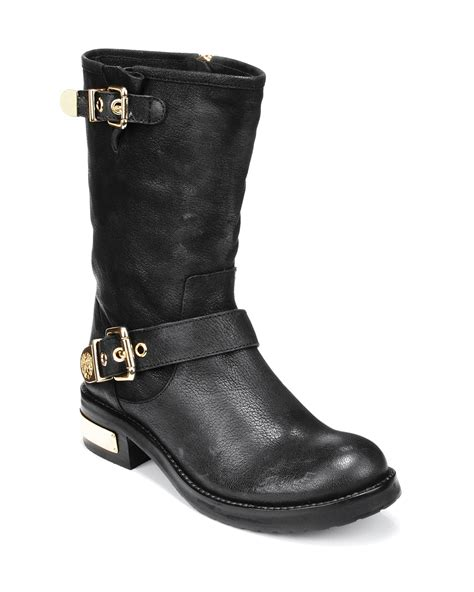 vince camuto moto boots winchell flat bloomingdale s