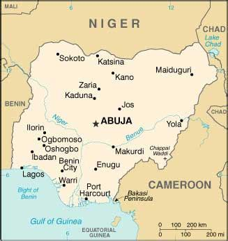 yoruba africa map yoruba
