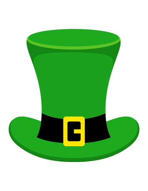 leprechaun hat photo booth prop