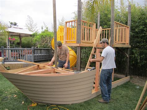 plans playhouse plans pirate ship  cool wood