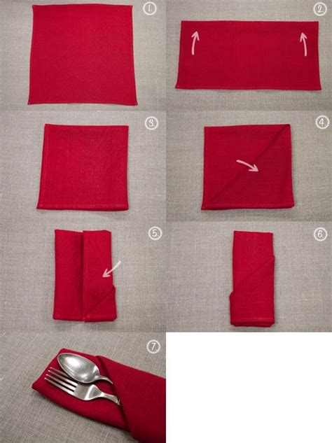 How To Fold Silverware In Paper Napkins - best 25 folding napkins ideas on napkins diy