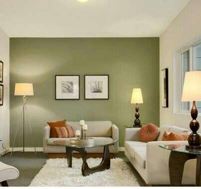 como decorar sala color verde decoracion de salas color verde olivo 2