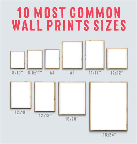 Picture Mat Sizes by Printeriors Bedroom Framed Mockups By Frisk Shop