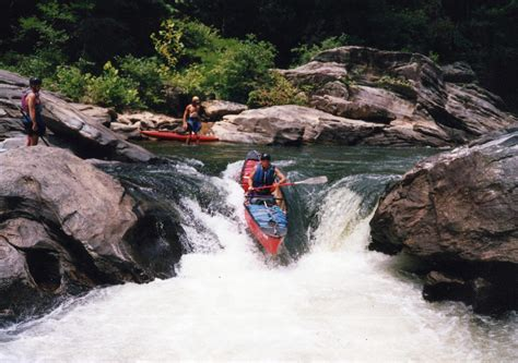 chattooga river section 3 quot seven foot falls quot chattooga river here i am running